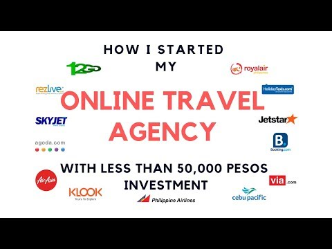 How I Started My ONLINE TRAVEL AGENCY Business With LESS Than 50K PHP Investment - Revealed!