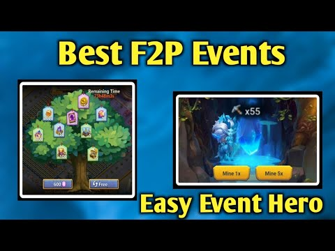 F2P | Best Event | Easy Event Hero 😳 | Tree Of Choice | Treasure Mining | Crazy Luck | Castle Clash