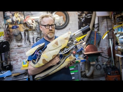 Adam Savage's Zorg ZF-1 Prop Replica!