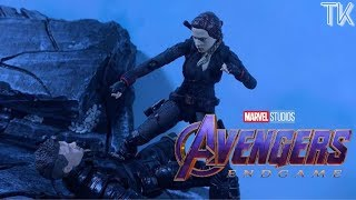Avengers Endgame Black Widow Death Stop Motion Recreation [AGE OF SWAGWAVE 2020]