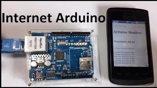 Conexión por Internet del Arduino (Shield  Ethernet) Como se hace