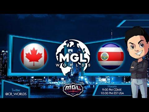 Mundial de Clash Royale   | Canada vs Costa Rica  | Fase 1 de la CR WORLDS