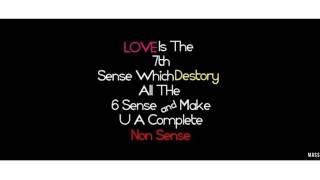 Mounama o mounama/in love failure/it's so sad/from Nanna nenu Na boy friends