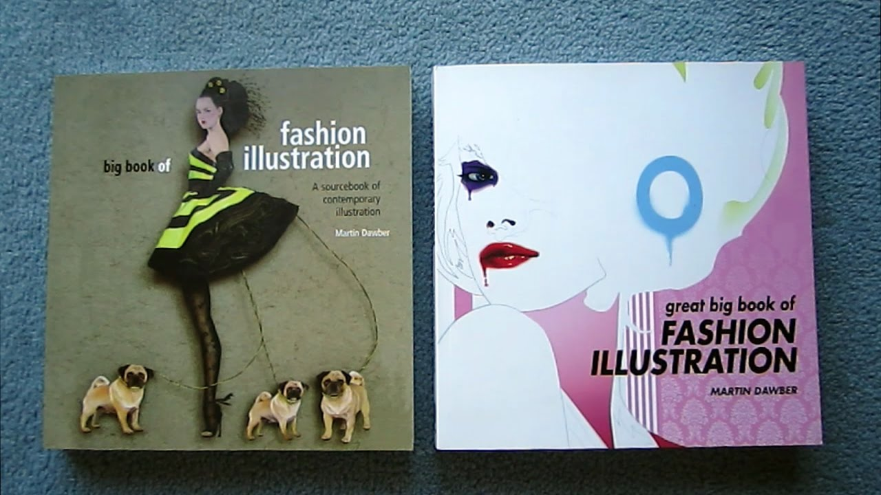 The great big book of fashion illustration 22