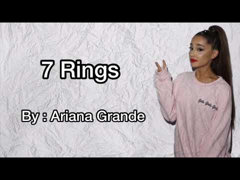 7 Rings - Ariana Grande (Lyrics) Clean