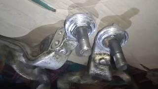 Финал переделки х..евой реставрации шаровых алюминиевый рычаг делал немцев виталий хаьков