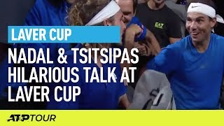 Nadal & Tsitsipas Hilarious Doubles Moment | Laver Cup | ATP