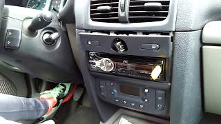 REMPLACER BOUTON WARNING CLIO 2 PHASE 2