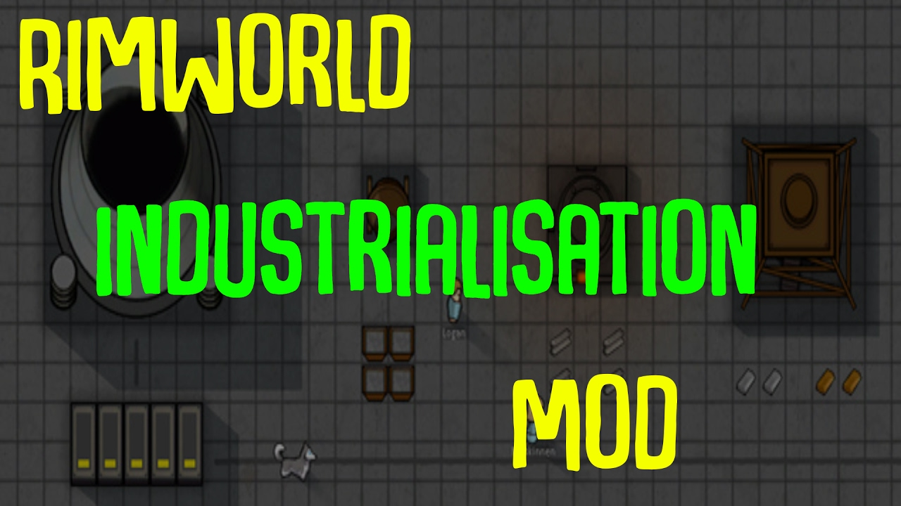 Rimworld Mod Guide: Industrialisation Mod! Rimworld Mod Showcase