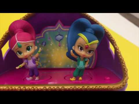 Shimmer and Shine Magic Jewelry Box UToo Kids