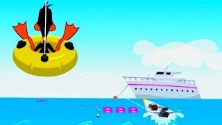 Water Ski - Disney Heroes - Happy Kids Games and Tv - 1080P