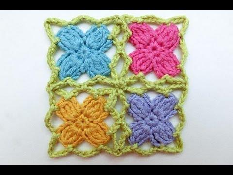 How to Crochet * Mille fiori per cinque mille agnelli * Crochet ...