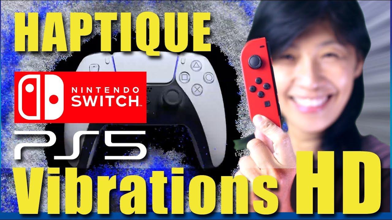 L'haptique du Joy-Con Switch : explication des vibrations HD qui pourraient équiper la DualSense PS5