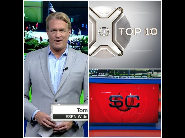 SportsCenter Top 10 - ESPN SportsCenter at Disney 2020