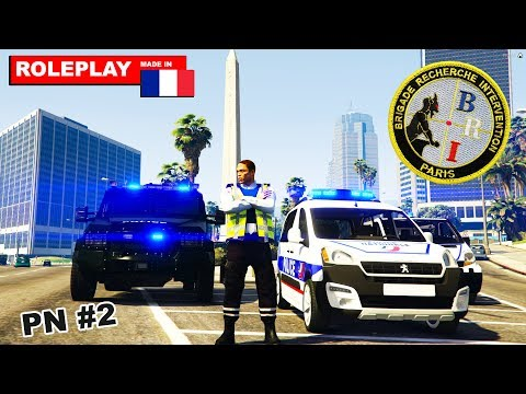 Police Nationale #2 | PATROUILLE QUI TOURNE MAL | GTA 5 RP FR