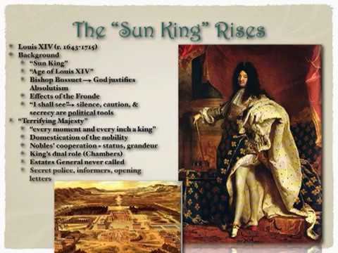 APEH Absolutism Lecture Part 2 - The Age of Louis XIV