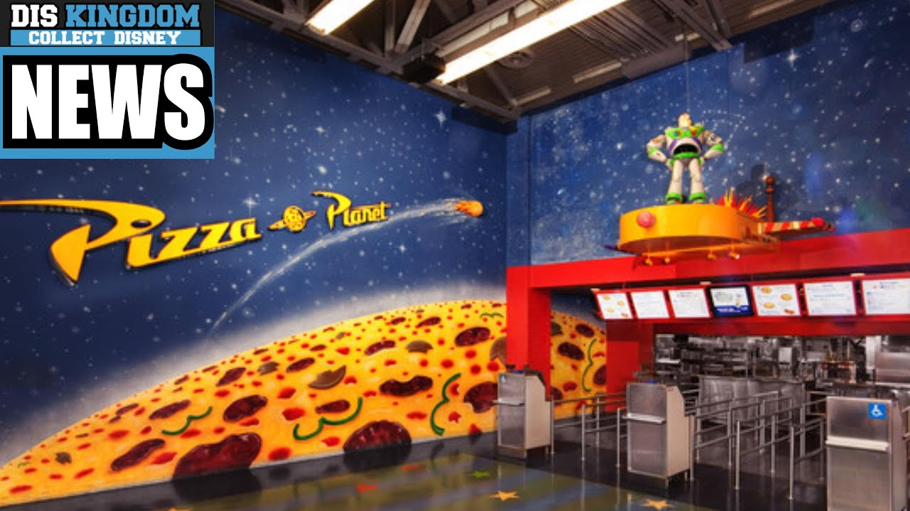 pizza planet closing down for most of 2016 at walt disney world 39 s hollywood studios disney. Black Bedroom Furniture Sets. Home Design Ideas