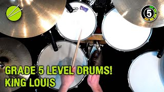 Grade 5 - King Louis (Drum Kit - Trinity 2011-2013 syllabus)