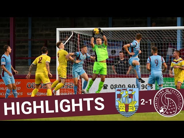 Extended Highlights: Weymouth 2-1 Taunton Town