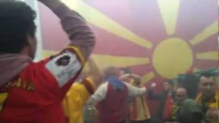 Macedonian Fan Zone - Macedonia 26-26 Sweden (Handball EHF-EURO 2012)