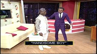 Handsome Boy Shows Chipukeezy How To Do 'The Handsome Dance'