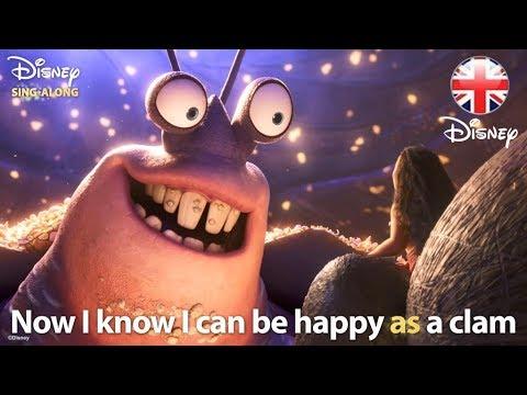 DISNEY SING-ALONGS  Shiny - Moana Lyric    Disney UK