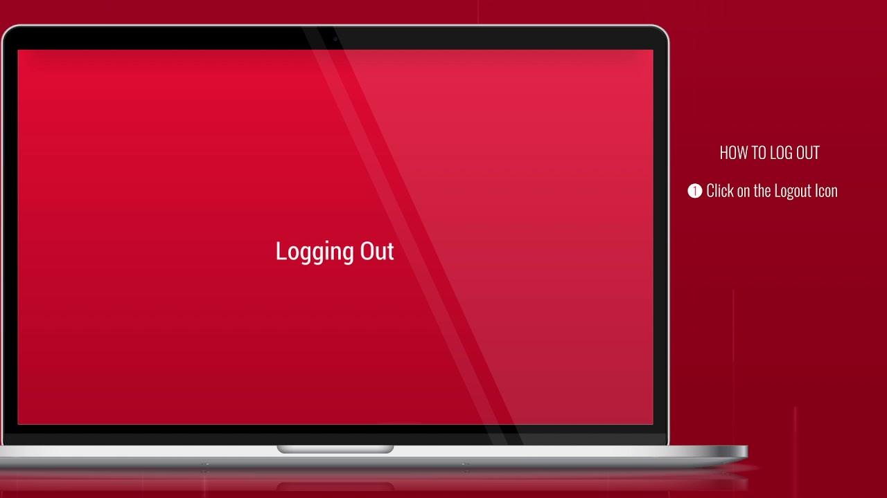 How do I log out? | Bank One Internet Banking