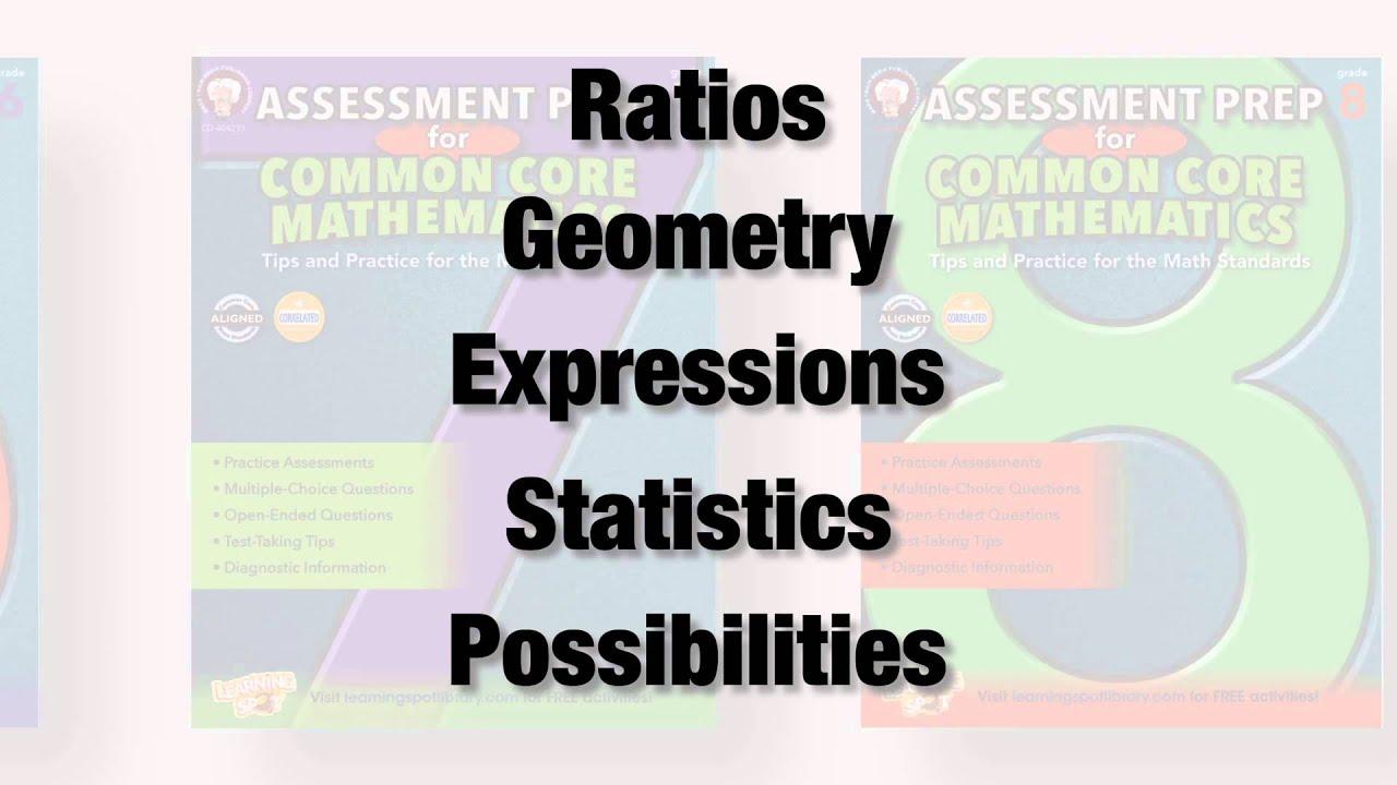 Mark twain assessment prep for common core math youtube
