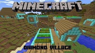 "Noob Survival Minecraft Indonesia #4 ""Diamond Village"""