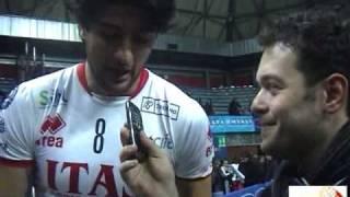Intervista a Leandro Vissotto Mvp della finale Tim Cup (di Fabrizio D'Alessandro da Volley Time Web)