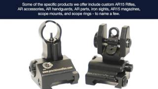 Manufacturer and Distributor of AR15 Parts and Accessories