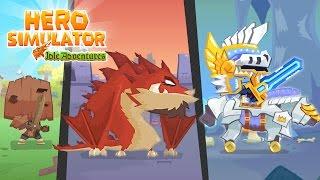 Hero Simulator - Boss Battles Game Trailer