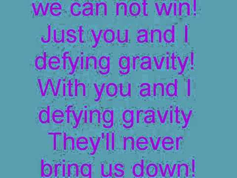 dyfying gravity lyrics