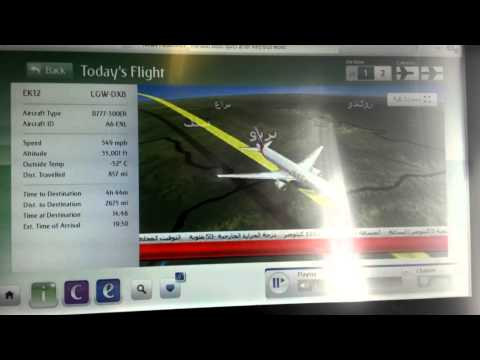 Emirates Boeing 777 300ER|LGW-DXB| EK12