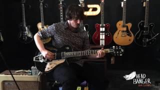 Duesenberg Starplayer TV Black-Headbanger Rare Guitars-DEMO
