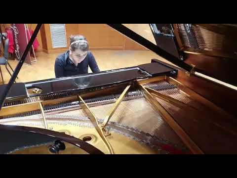 F.Liszt: B minor Sonata (fugato)
