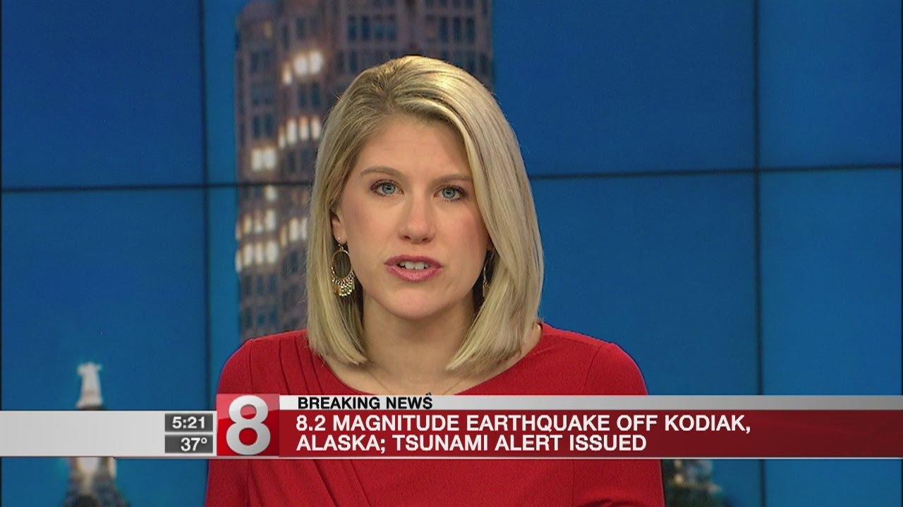8.2 Earthquake Off Alaska Prompts Tsunami Warning