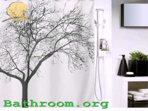 Waterproof Shower Curtain with Tree Design Review 2015