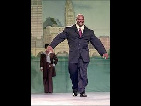 Ronnie Coleman funny as always..old footage..