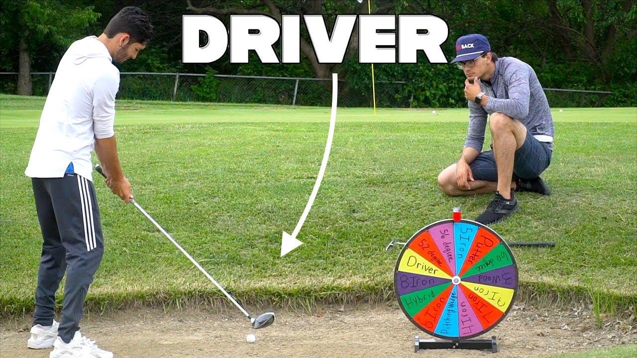 Random Golf Club Challenge | Wheel of Not Ideal
