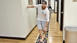 World's Longest LEGO Walk | Overtime 2 | Dude Perfect thumbnail