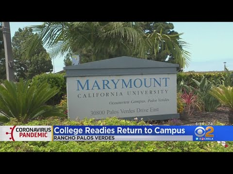 Marymount California University Students To Return To Campus In August