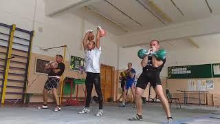 Тренировка с ЗМС Анасенко / Workout Anasenko