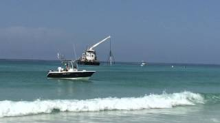 Right Now! South Walton's First Artificial Reef Is Placed