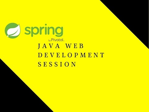 Java Web Development Session 1 | Maven | Spring MVC