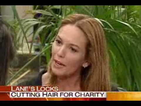 Diane Lane Locks of Love Haircut