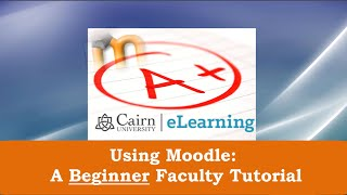 Moodle 2.9: A Beginner Tutorial for Teachers - Simplified