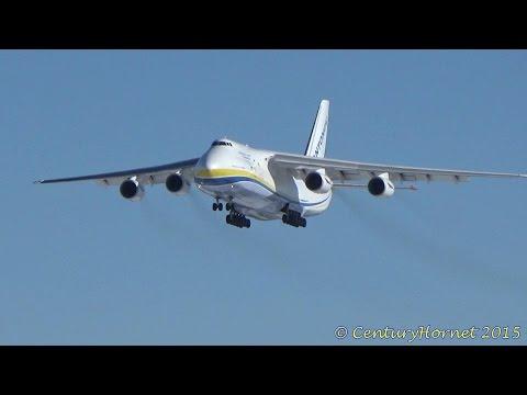 RARE: Antonov Design Bureau Antonov An-124 Ruslan @ Toronto Pearson Int'l March 8, 2015