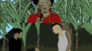 Popcaan Kills Rapists | Jungle Justice. [Jamaican Cartoon]