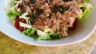 Итальянский салат с тунцом (Easy to cook)